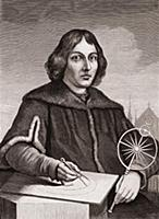 1201950 Nicolaus Copernicus, c.1850 (engraving) by