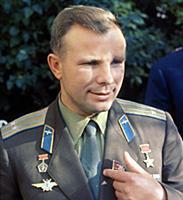 1806374 Youri Gagarine; (add.info.: Yuri Gagarin (