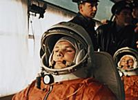 3905467 Cosmonaut Yuri Gagarin on a Bus on the Way