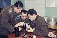 3906819 Soviet Cosmonauts Boris Volynov, Yuri Gaga