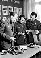 3906709 Soviet Cosmonauts Alexei Leonov, Yuri Gaga