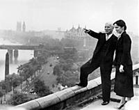1860078 Oona et Charlie Chaplin; (add.info.: Charl