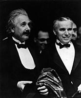 2339289 Albert Einstein with Charlie Chaplin, Los