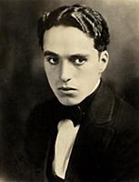 828941 Portrait of Charlie Chaplin, c. 1918 (sepia