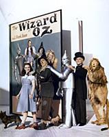 4062045 Judy Garland, Ray Bolger, Jack Haley, Fran