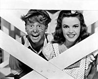 4045532 Mickey Rooney And Judy Garland, Babes On B