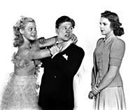 4059574 June Preisser, Mickey Rooney And Judy Garl