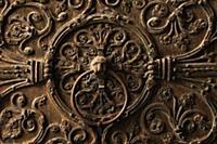 1150067 France. Paris. Notre Dame. Door knocker. D