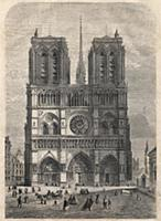 XEE557578 Paris : Notre Dame. Plan after Eugene Vi