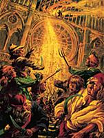 LAL319317 Hunchback of Notre Dame by English Schoo