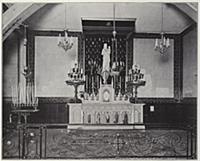 5214262 Paris, Altar of Notre-Dame de Salut (b/w p