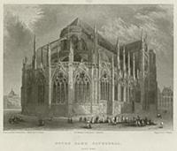 2782144 Notre Dame Cathedral, East End (engraving)