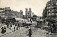 1688588 Notre Dame de Paris cathedral, Postcard, 1