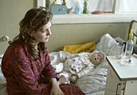 Victims of the Chernobyl disaster at the children'