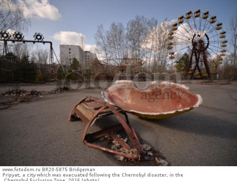 Pripyat, a city which was evacuated following the Chernobyl disaster, in the Chernobyl Exclusion Zone, 2016 (photo)
