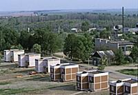 Kirovo village for refugees from the Chernobyl nuc