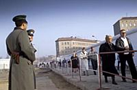 Fall of the Berlin Wall: pawns crossing the contro