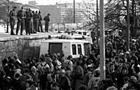 German Reunification, Fall of the Berlin Wall, Ger
