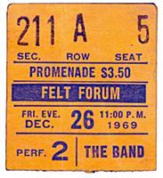 Старые концертные билеты