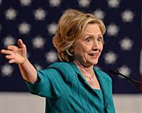 Речь Хиллари Клинтон в международном университета Флориды