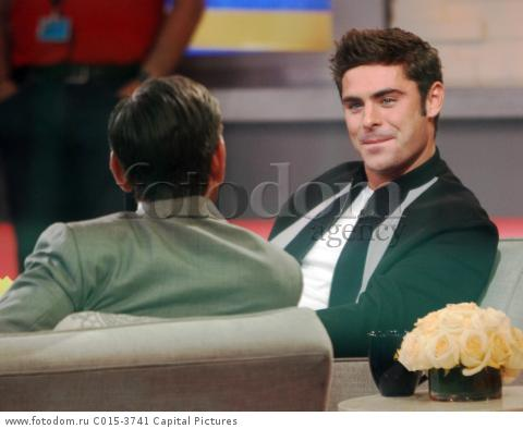 August  17, 2015: Zac Efron at  Good Morning America to talk about his  new movie We Are Your Friends in New York City. CAP/MPI/RW ГѓRW/MPI/Capital Pictures