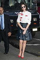 NEW YORK, NY - SEPTEMBER 23: Anne Hathaway at Good
