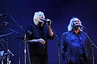 LONDON, ENGLAND - SEPTEMBER 23: Graham Nash and Da