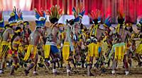 The first World Indigenous Games in Palmas, Brazil