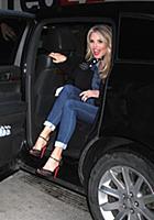 NEW YORK, NY - JANUARY 28: Christie Brinkley visit
