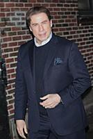 NEW YORK, NY - FEBRUARY 1: John Travolta visits Th
