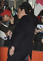 02  01, 2016: John Travolta at The Late Show to ta