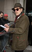 NEW YORK, NY- FEBRUARY 1: Jeremy Irons seen at AOL