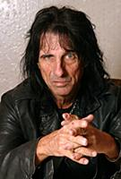 Alice Cooper photographed in Philadelphia on March