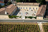 Chateau La Couspaude and vineyard of Chateau Ville