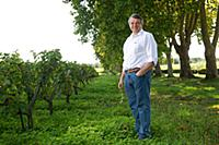 Xavier Planty of Chateau Guiraud  Sauternes  Giron