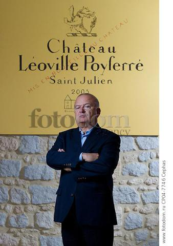 Didier Cuvelier of Chateau Leoville-Poyferre  St-Julien  Gironde  France.   [Medoc / Bordeaux]