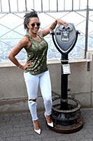 Mel B посетила Эмпайр-стейт-билдинг