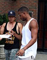 Майкл Джордан в Нью-Йорке