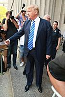 Дональд Трамп в Нью-Йорке