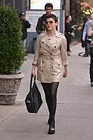 Роуз Макгоуэн в Нью-Йорке