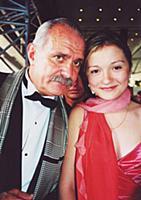 23-й ежегодный Московский Международный Кинофестиваль, июнь 2001. . На фот