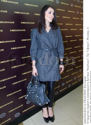 Открытие первого ювелирного бутика neuhaus, тц сфера, москва, 3 декабря 2009