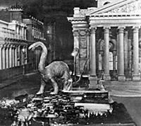 Архивные кадры из фильма «Затерянный мир»