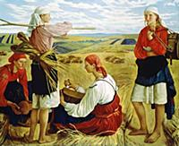 'The Harvest', 1915. Found in the collection of th