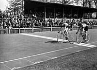 The finish of the Invitation International Sprint