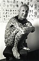 Tom Leppard, known as the Leopard Man of Skye. He