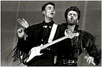 ANDREW RIDGELEY AND GEORGE MICHAEL - WHAM