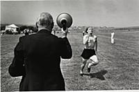 A sports day at St Dunstan's home for the war blin