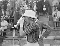 Hurlingham Ladies Polo .  Hon Mrs Gurdon ( Grinst