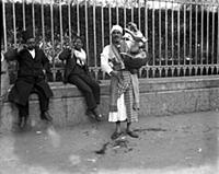 The lemonade seller on the street in Cairo , Egypt